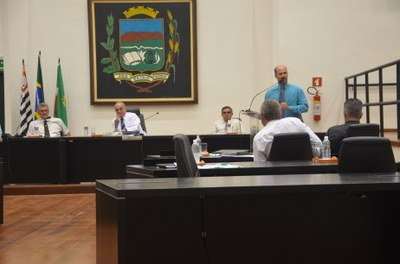 Apenas dois projetos constaram da Ordem do Dia da 5ª Sessão Ordinária