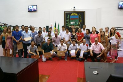 Atletas dos Jogos Regionais são homenageados em Sessão na Câmara de Vereadores
