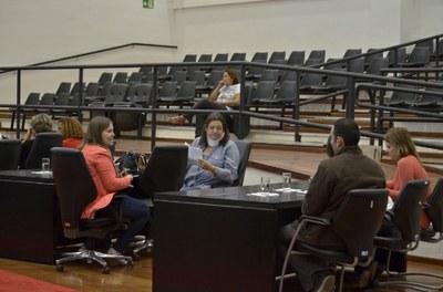 Audiência Pública refente a Prestação de Contas da Secretaria de Saúde é realizada na Câmara