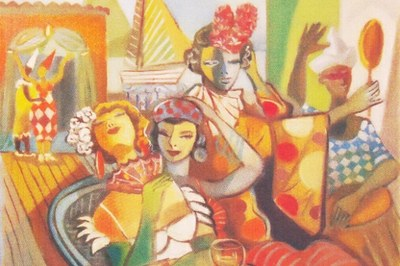 Câmara de Pindamonhangaba apresenta exposição do artista plástico Ademyr Costa