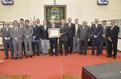 Câmara de Pindamonhangaba concede título de cidadania ao Presidente do TJSP, Dr. José Renato Nalini