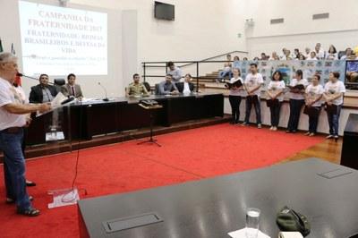 Campanha da Fraternidade é lançada oficialmente em Pindamonhangaba em Solenidade na Câmara de Vereadores