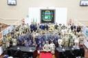 Chefes, Escoteiros, Escotistas e Lobinhos lotam plenário da Câmara para sessão solene comemorativa ao Dia do Escoteiro