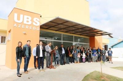 Presidente Magrão representa o Legislativo na inauguração da UBS do Jardim Azeredo