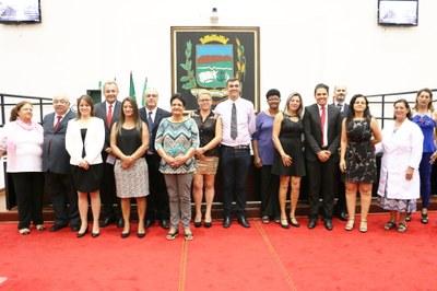 Trabalhos e ações sociais das mulheres de Pindamonhangaba são lembrados em Sessão Solene promovida na Câmara de Pindamonhangaba