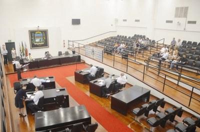 Última Sessão Ordinária do ano é marcada pela aprovação de projetos de operacionalização do SAMU e da fixação dos subsídios do Prefeito, Vice-Prefeito e Secretários