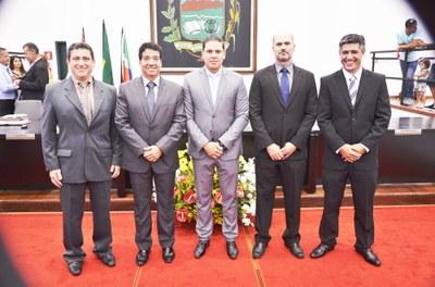 Vereador Carlos Eduardo de Moura – Magrão, do PR, assume a Presidência da Câmara de Pindamonhangaba no biênio 2017/2018
