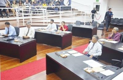 Vereadores analisam e aprovam alterações propostas pelo Executivo na Estrutura Orçamentária da LDO 2018