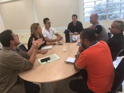 Vereadores participam de reunião com a Secretária de Saúde para tratar da intervenção no Pronto Socorro Municipal
