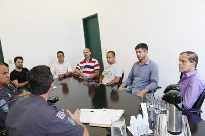 Vereadores se reúnem com Comando do 5º Batalhão e da 2ª Companhia da Polícia Militar de Pindamonhangaba
