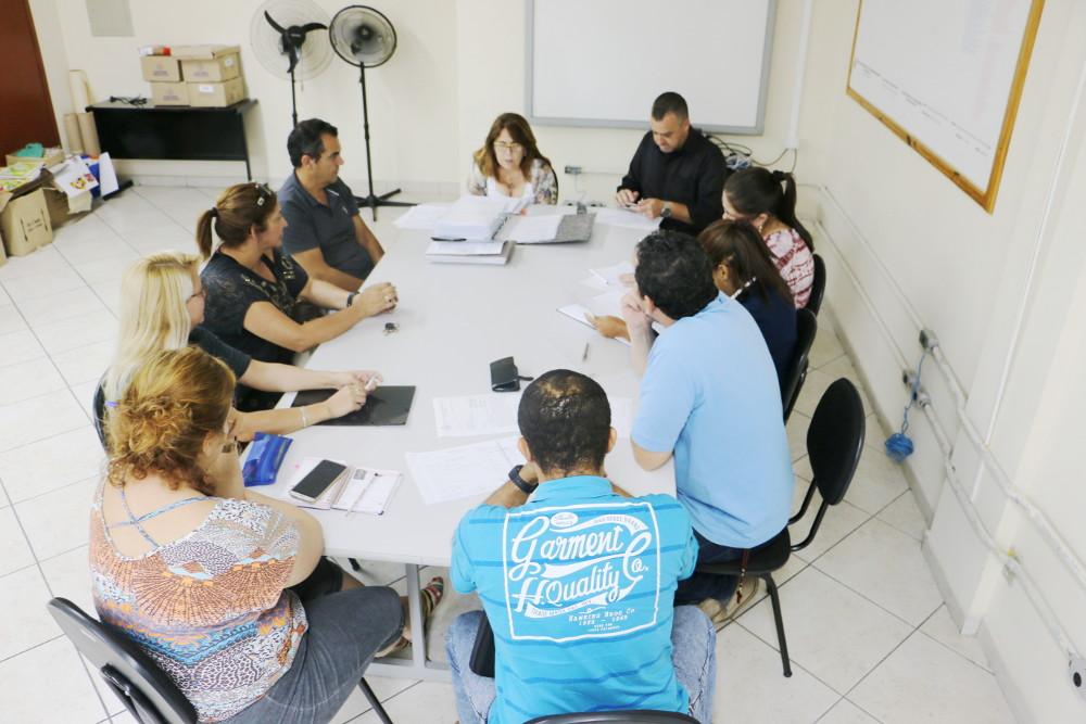Vereadores se reúnem com Dirigentes da Prefeitura para tratar das reformas em escolas municipais